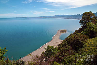 Lagoon Of Tindari On The Isle Of Sicily  Poster