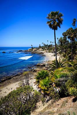 Laguna Beach California Beaches Poster by Paul Velgos