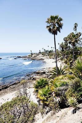 Laguna Beach California Heisler Park Poster by Paul Velgos