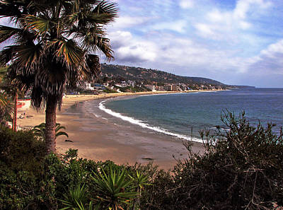 Poster featuring the photograph Laguna Beach by Joanne Coyle