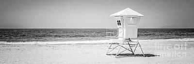 Laguna Beach Lifeguard Tower Panoramic Photo Poster