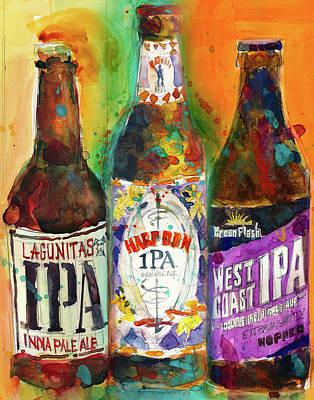 Lagunitas Ipa, Harpoon Ipa, West Coast Ipa Beer Poster