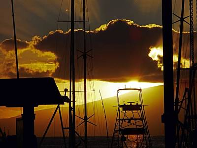 Lahaina Sunsets 5 Poster
