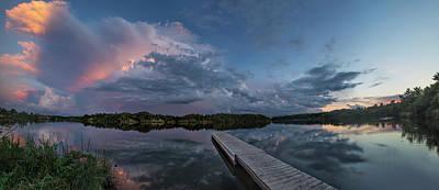 Lake Alvin Supercell Poster