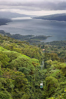 Lake Arenal Scenic Poster