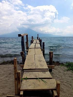 Lake Atitlan Dock Poster