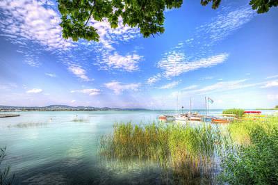 Lake Balaton Summer Poster