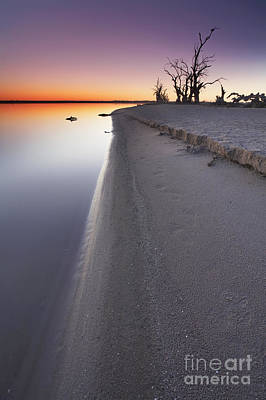 Lake Bonney Sunrise Barmera Riverland South Australia Poster