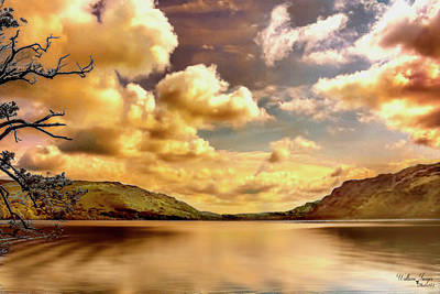 Poster featuring the photograph Lake District Uk by Wallaroo Images