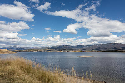 Lake Granby -- The Third-largest Body Of Water In Colorado Poster by Carol M Highsmith