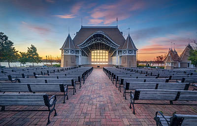 Lake Harriet Bandshell Poster by RC Pics