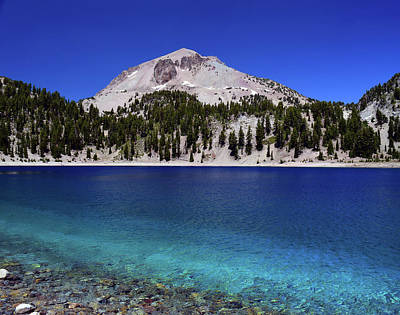 Poster featuring the photograph Lake Helen Mount Lassen 2 by Frank Wilson