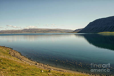 Lake In Iceland Poster