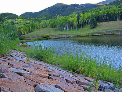 Poster featuring the photograph Lake Isabel Colorado by Tammy Sutherland