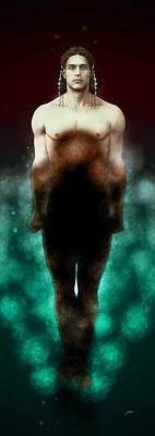 Lake Kouros Poster
