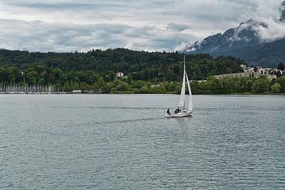 Lake Lucerne 2 Poster
