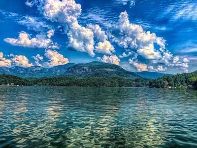 Lake Lure Beauty Poster