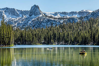 Lake Mamie Fishing Poster