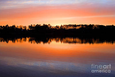 Lake Maumelle Sunset Poster