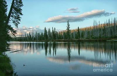 Lake Reflections Poster