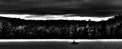 Lake Solitude  Poster by David Patterson