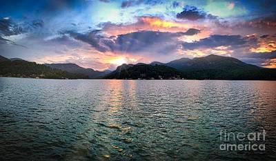 Lake Solstice Poster
