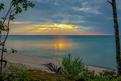 Lake Superior Sunset Poster