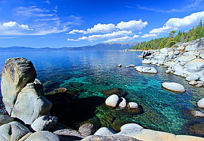 Lake Tahoe Summer Treasure Poster