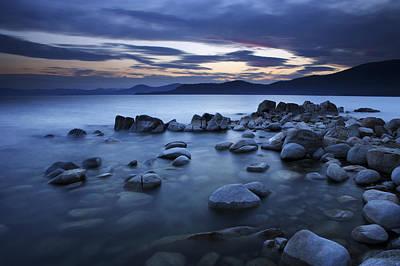 Lake Tahoe Sunset Poster
