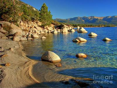 Lake Tahoe Tranquility Poster by Scott McGuire