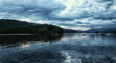 Lake Windermere Reflections Poster