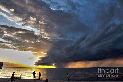 Lake Winnipeg Storm Poster
