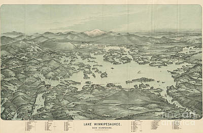 Lake Winnipesaukee New Hampshire Poster