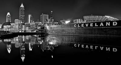Lakefront Charcoal Poster