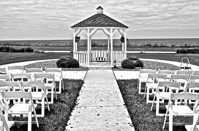 Lakefront Wedding Poster