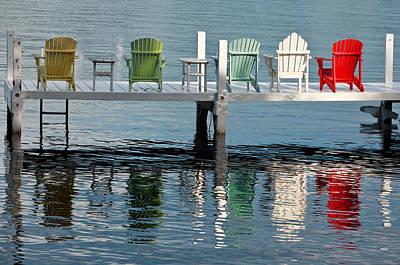 Lakeside Living Poster by Steve Gadomski
