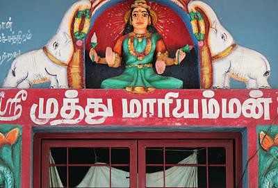 Lakshmi And Her Elephants, Valparai Poster by Jennifer Mazzucco