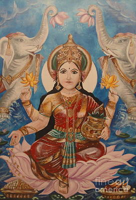 Lakshmi Poster by Sabrina Phillips