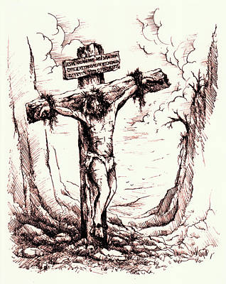 Lamb Of God Poster by Rachel Christine Nowicki