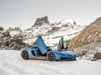 Lamborghini Aventador Sv Poster