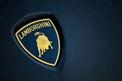 Poster featuring the photograph Lamborghini  by ItzKirb Photography
