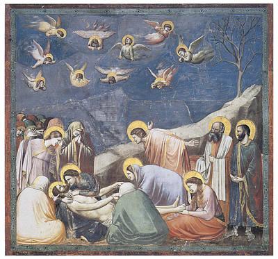 Lamentation Poster by Giotto Di Bondone