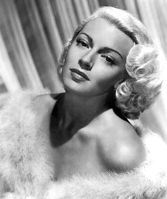 Lana Turner Poster by American School