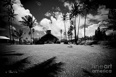 Lanakila 'ihi'ihi O Iehowa Ona Kaua Church Keanae Maui Hawaii Poster by Sharon Mau