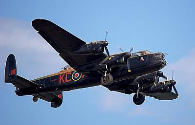 Lancaster Bomber Poster by Mark Hinds