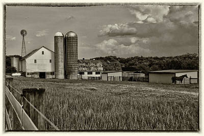 Lancaster Farm Poster