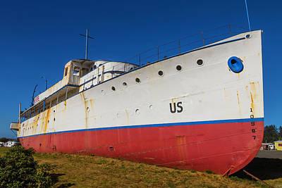Land Locked Cruise Ship Poster by Garry Gay