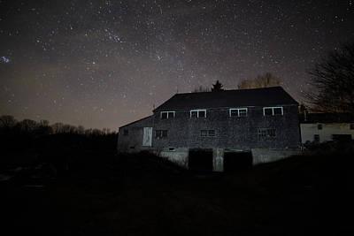 Landfall At Night Poster