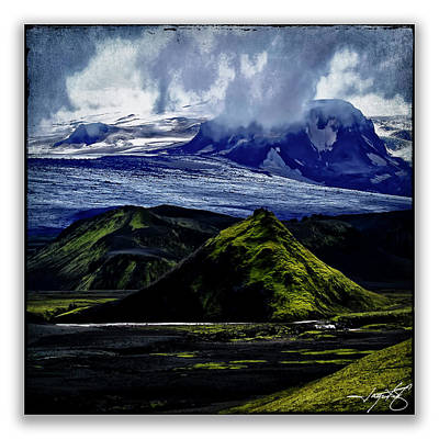 Landmannalaugar Poster by Ingrid Smith-Johnsen