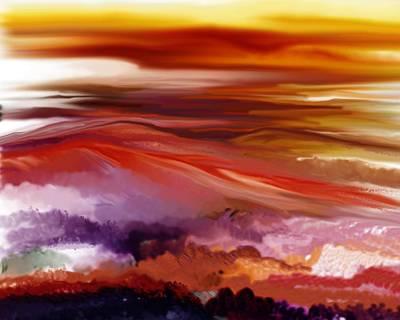 Landscape 022511 Poster by David Lane